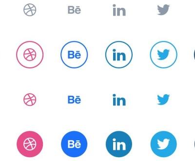 Free Circular Social Media Icon Pack