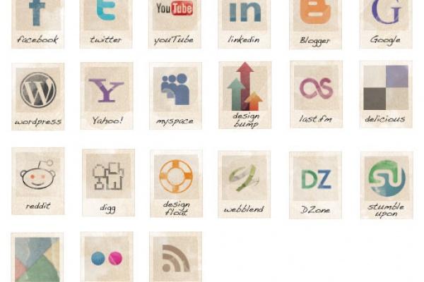 Icon Set Vintage